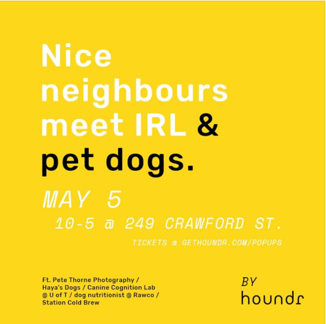 Houndr dog connecting app